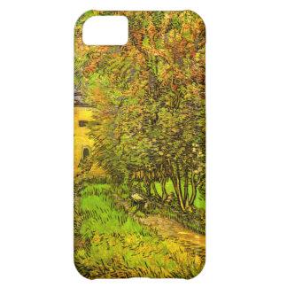 Van Gogh: El jardín del hospital de San Pablo Funda Para iPhone 5C