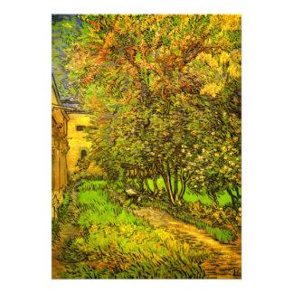 Van Gogh El jardín del hospital de San Pablo Comunicados Personales