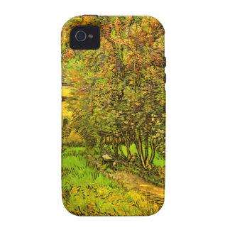 Van Gogh: El jardín del hospital de San Pablo iPhone 4/4S Funda
