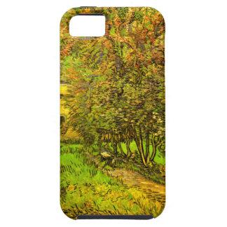 Van Gogh: El jardín del hospital de San Pablo iPhone 5 Carcasa