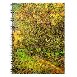Van Gogh: El jardín del hospital de San Pablo Libretas