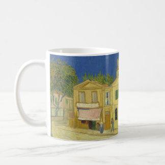 Van Gogh el | la casa amarilla el | 1888 Taza De Café