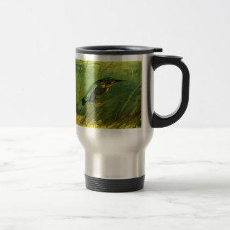 Van Gogh el martín pescador, arte del Tazas De Café