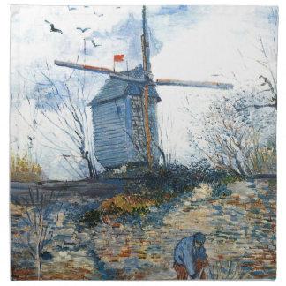 Van Gogh: El molino de Galette Servilleta De Papel