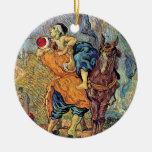 Van Gogh el ornamento del buen samaritano Ornaments Para Arbol De Navidad