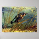 Van Gogh el poster del martín pescador