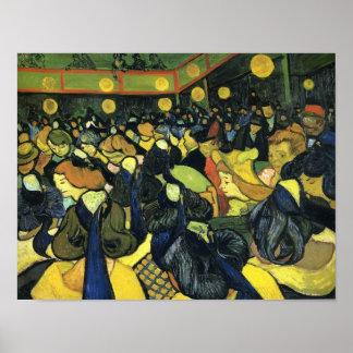 Van Gogh - el salón de baile en Arles Impresiones