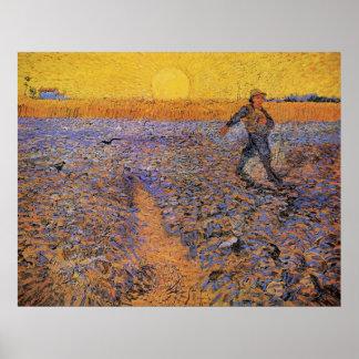 Van Gogh el sembrador arte del impresionismo del Impresiones