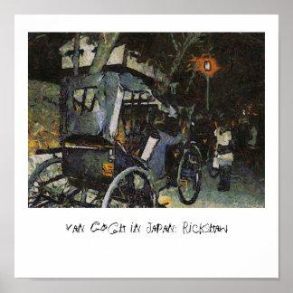 Van Gogh en Japón: Carrito Póster