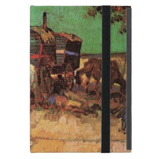 Van Gogh; Encampment of Gypsies with Caravans iPad Mini Cover