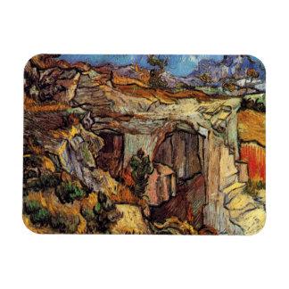 Van Gogh - entrada a una mina cerca del santo Remy Iman Flexible