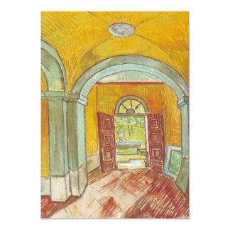 Van Gogh Entrance Hall of Saint Paul Hospital Card