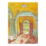 """Van Gogh; Entrance Hall of Saint Paul Hospital 5"""" X 7"""" Invitation Card"""