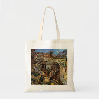 Van Gogh Entrance to a Quarry, Vintage Fine Art Tote Bag