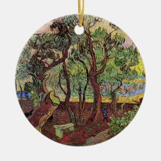 Van Gogh Esquina del hospital y del jardín de San Ornamente De Reyes
