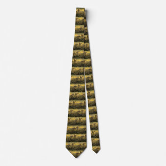 Van Gogh Evening: End of the Day, Vintage Art Tie