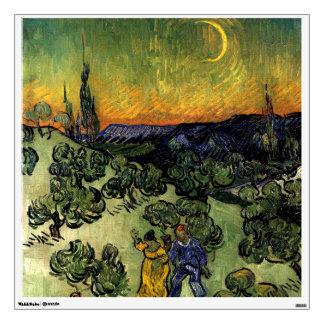 Van Gogh: Evening Promenade Wall Decal