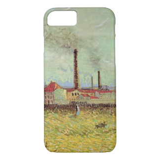 Van Gogh Factories at Asnieres, Vintage Fine Art iPhone 8/7 Case