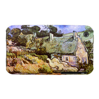 Van Gogh: Farmers Cottage in Cordeville iPhone 3 Case
