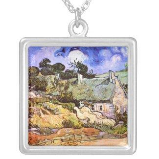 Vincent van Gogh: Farmers Cottage in Cordeville