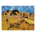 Van Gogh - Farmhouse In Provence Print