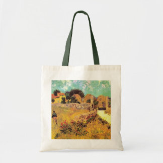 Van Gogh Farmhouse in Provence, Vintage Fine Art Tote Bag