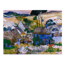 Van Gogh - Farms near Auvers Postcard