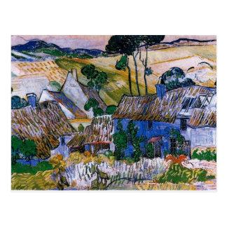 Van Gogh - Farms near Auvers Postcard
