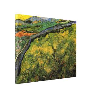 Van Gogh Field of Spring Wheat, Sunrise, Fine Art Canvas Print