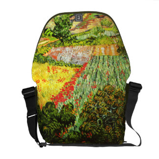 Van Gogh: Field with Poppies Commuter Bag