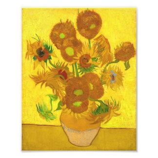 Van Gogh Fifteen Sunflowers In A Vase Fine Art Photo Print