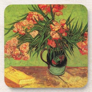 Van Gogh Fine Art, Vase with Oleanders and Books Coaster