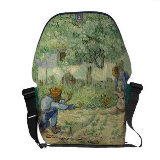 Van Gogh First Steps after Millet Messenger Bag