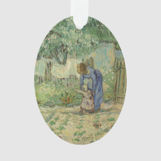 Van Gogh First Steps after Millet Ornament