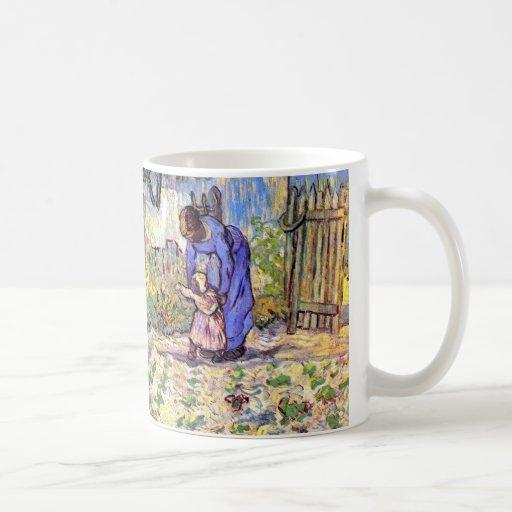 Van Gogh - First Steps Classic White Coffee Mug