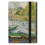 Van Gogh Fishing in the Spring, Vintage Fine Art iPad Mini Cover