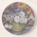 Van Gogh Floral Beverage Coasters