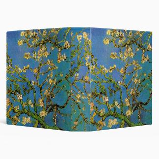 """Van Gogh florece el arte, árbol de almendra Carpeta 1 1/2"""""""