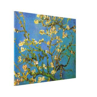 Van Gogh florece el arte, árbol de almendra Impresión En Lona Estirada