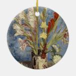 Van Gogh - florero con los gladiolos y los asteres Ornato