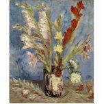 Van Gogh - florero con los gladiolos y los asteres Escultura Fotográfica
