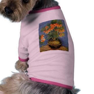 Van Gogh flower painting Doggie Tee