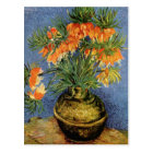 Van Gogh flower painting Postcard