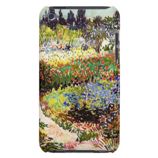 Van Gogh Flowering Garden At Arles Floral Fine Art Barely There iPod Case