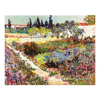Van Gogh Flowering Garden At Arles Floral Fine Art Flyer