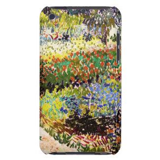 Van Gogh Flowering Garden At Arles Floral Fine Art iPod Case-Mate Case