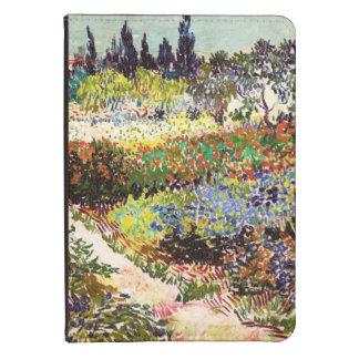 Van Gogh Flowering Garden At Arles Floral Fine Art Kindle Touch Case