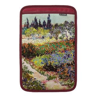 Van Gogh Flowering Garden At Arles Floral Fine Art MacBook Sleeve