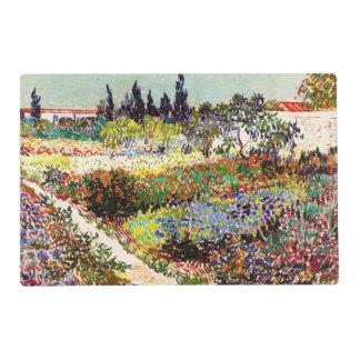 Van Gogh Flowering Garden At Arles Floral Fine Art Placemat