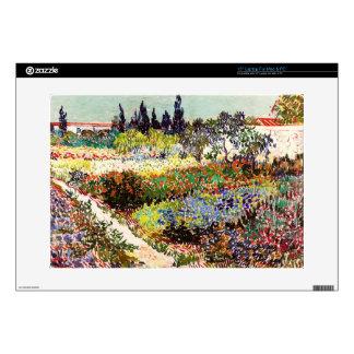 Van Gogh Flowering Garden At Arles Floral Fine Art Skin For Laptop